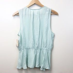 14th & Union Tops - 14th & Union Surplice Layered Pleated Top